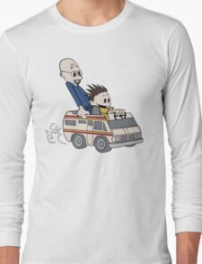 Breaking Bad Calvin And Hobbes Long Sleeve T-Shirt