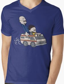 Breaking Bad Calvin And Hobbes Mens V-Neck T-Shirt