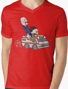 Breaking Bad Calvin And Hobbes Mens V-Neck T-Shirt