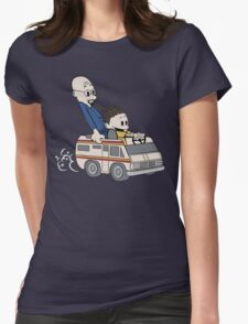 Breaking Bad Calvin And Hobbes Womens Fitted T-Shirt