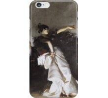John Singer Sargent - El Jaleo1882. Dancer painting: dance, ballet, dancing woman, ballerina, tutu, femine, women, dancer, disco, dancers, girls iPhone Case/Skin