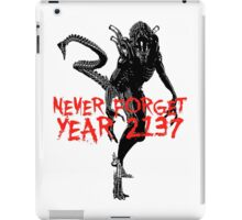"NEW* ALIEN: ISOLATION MERCHANDISE... ""NEVER FORGET YEAR 2137"" iPad Case/Skin"