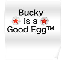 Bucky is a Good Egg Poster