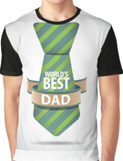 World's Best Dad necktie design. Graphic T-Shirt