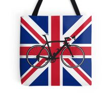 Bike Flag United Kingdom (Big - Highlight) Tote Bag