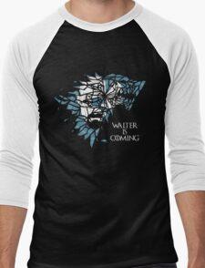 Breaking Bad Walter is Coming - Game of Thrones Men's Baseball ¾ T-Shirt