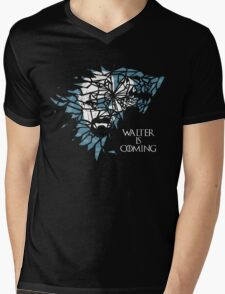 Breaking Bad Walter is Coming - Game of Thrones Mens V-Neck T-Shirt