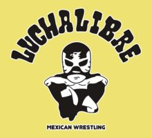 mexican wrestling lucha libre12 Kids Tee