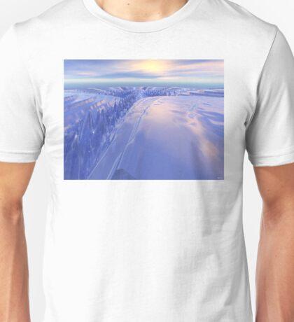 Ice Fissure Unisex T-Shirt