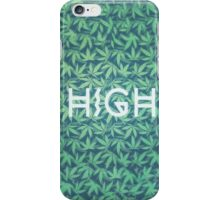 HIGH TYPO! Cannabis / Hemp / 420 / Marijuana  - Pattern iPhone Case/Skin