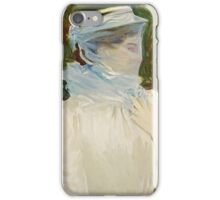 John Singer Sargent - Sally Fairchild. Woman portrait: sensual woman, girly art, female style, pretty women, femine, beautiful dress, cute, creativity, love, sexy lady iPhone Case/Skin