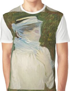 John Singer Sargent - Sally Fairchild. Woman portrait: sensual woman, girly art, female style, pretty women, femine, beautiful dress, cute, creativity, love, sexy lady Graphic T-Shirt