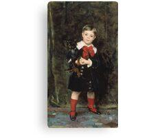 John Singer Sargent - Robert 1879. Child portrait: cute baby, kid, children, pretty angel, child, kids, lovely family, boys and girls, boy and girl, mom mum mammy mam, childhood Canvas Print