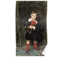 John Singer Sargent - Robert 1879. Child portrait: cute baby, kid, children, pretty angel, child, kids, lovely family, boys and girls, boy and girl, mom mum mammy mam, childhood Poster