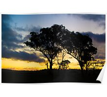 Uralla Sunset Poster