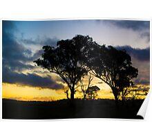 Uralla Sunset Poster