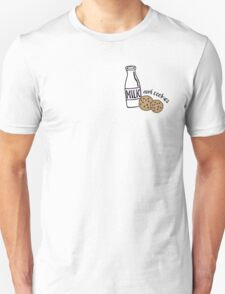 Milk and Cookies illustration Unisex T-Shirt