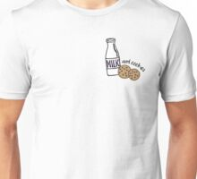 Milk and Cookies illustration Unisex T-Shirt