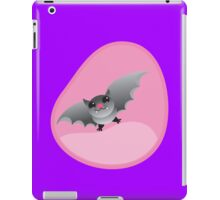 Ladies womb pregnancy shirt with a bat iPad Case/Skin