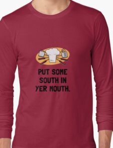 BBQ South In Mouth Long Sleeve T-Shirt