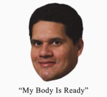 """Bill Trinen """"My Body Is Ready"""" by CandyBubble"""