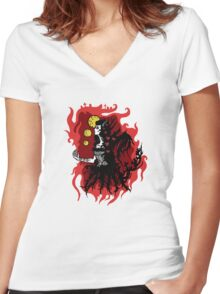 Kill of the Night Women's Fitted V-Neck T-Shirt