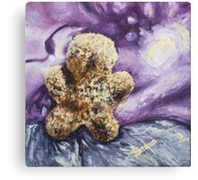 Furry Man (with nothing) Canvas Print