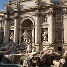 Toss a Coin to Return - Trevi Fountain, Rome, Italy by Georgia Mizuleva
