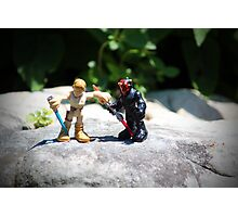 Action Figures Photographic Print