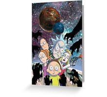 Rick & Morty Greeting Card
