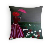 Storm arriving Throw Pillow