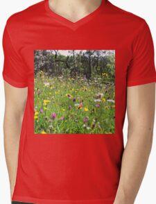 Mille Fluer Mens V-Neck T-Shirt