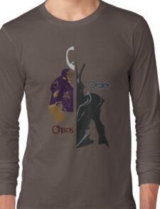 Chaos & Order Long Sleeve T-Shirt