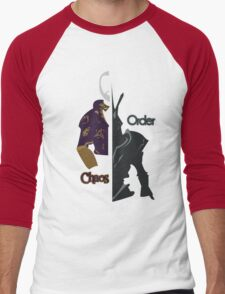 Chaos & Order Men's Baseball ¾ T-Shirt