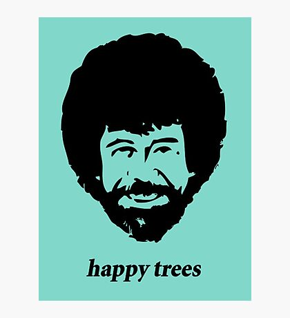 happy trees Photographic Print