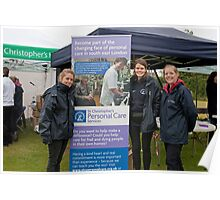St Christopher's Bromley biannual bluebell walk had another successful year despite the weather. Poster