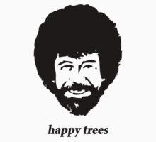 happy trees Kids Tee