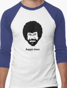 happy trees Men's Baseball ¾ T-Shirt