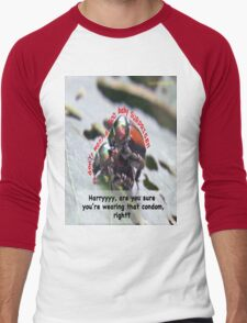 Ms. Bug doesn't want babies for a big surprise! Men's Baseball ¾ T-Shirt