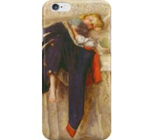 John Everett Millais - L Enfant Du Regiment 1854. iPhone Case/Skin