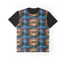 Two Galaxy Exchanging Nuclear Force Graphic T-Shirt