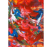 Abstract Contemporary Fine Art Colorful Photographic Print