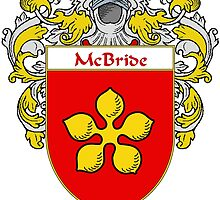 McBride Coat of Arms/Family Crest by William Martin