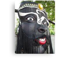 Monstrous Mask Canvas Print