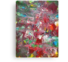 Abstract Contemporary Fine Art Colorful Canvas Print