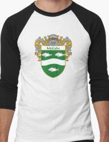 McCabe Coat of Arms/Family Crest Men's Baseball ¾ T-Shirt
