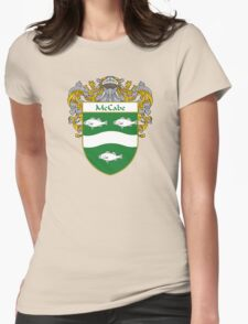 McCabe Coat of Arms/Family Crest Womens Fitted T-Shirt