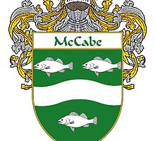 McCabe Coat of Arms/Family Crest by William Martin