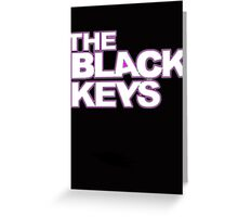 The Black Keys Greeting Card