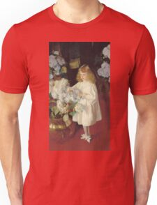 John Singer Sargent - Helen 1895. Child portrait: cute baby, kid, children, pretty angel, child, kids, lovely family, boys and girls, boy and girl, mom mum mammy mam, childhood Unisex T-Shirt